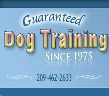 Guaranteed Dog Training - Since 1975
